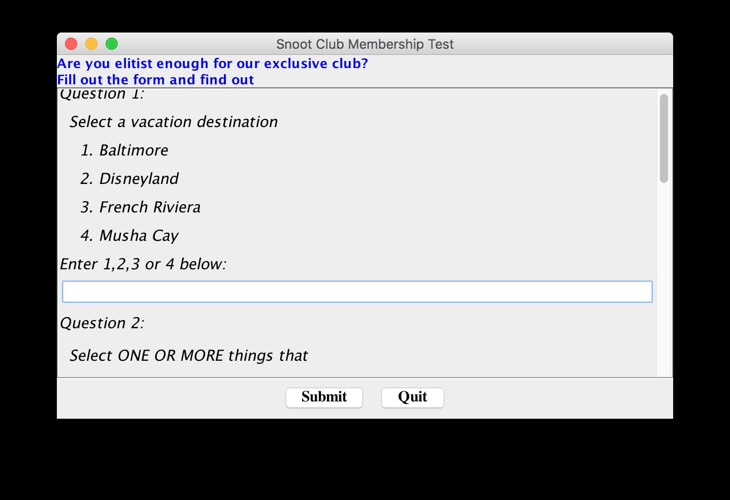 Java Module 11